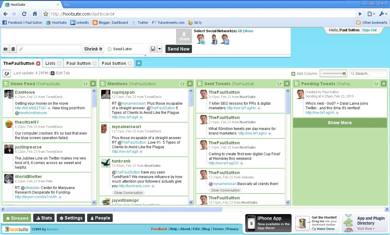 TweetDeck v Seesmic v HootSuite: Which is the Most Awesome Twitter