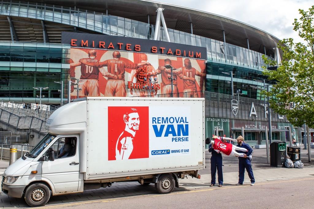 Removal Van Persie