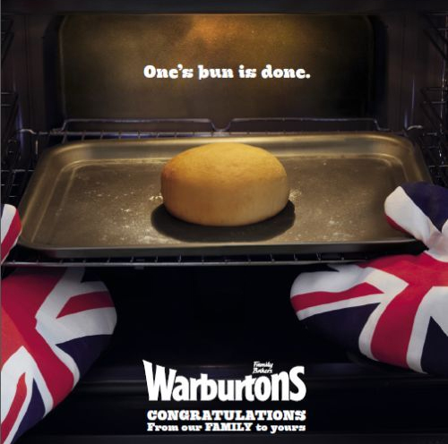 #RoyalBaby: Warburtons' Real-Time Marketing