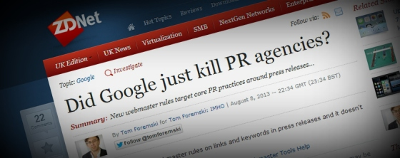 Did Google just kill PR agencies?