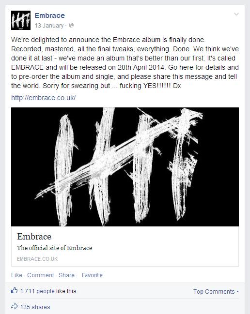 album announce
